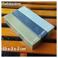 Batu asah asli alam hight quality 1 set isi 3 pcs size 15x3x3cm