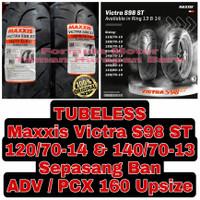 Maxxis 120/70-14 & 140/70-13 Victra S98 ST Sepasang Ban ADV / PCX 160