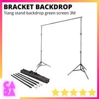 Braket Stand Backdrop Bracket Background Green Screen Studio Foto 3M