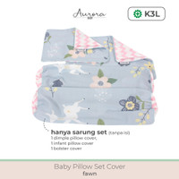 Aurora Baby Pillow Set Cover (Sarung Bantal Set Tanpa isi)