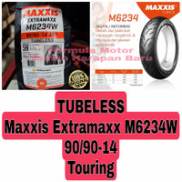 Maxxis 90/90-14 Extramaxx M6234W - Ban Motor Matic Ring 14 Tubeless