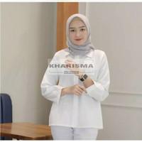 Fashion Shirt Wanita | Baju Kemeja Atasan Wanita Muslim Lengan Panjang