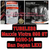 Maxxis 90/90-14 Victra S98 ST - Ban Depan Motor Lexi Ring 14 Tubeless