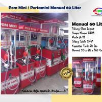 Pom Mini Pertamini Manual Kapasitas 60 Liter