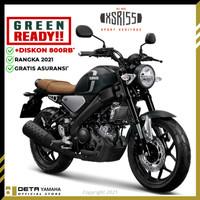 DETA-Yamaha XSR 155 (OTR BOGOR) 2021 Sepeda Motor - Hijau