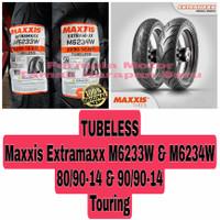Maxxis 80/90-14 & 90/90-14 Extramaxx Sepasang Ban Motor Ring 14 Tubles