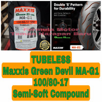 Maxxis 100/80-17 Green Devil MA-G1 Compound Ban Motor Ring 17 Tubeless