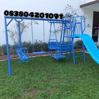 playground set ayunan kombinasi mainan anak tk paud dan taman bermain