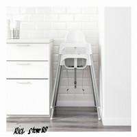 Ikea Kursi Makan Anak Bayi Dengan Tali Pengaman High Chair White