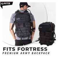 SFIDN FITS Fortress Army Backpack | Tas Ransel Waterproof Olahraga Tas
