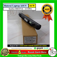 Baterai Laptop Asus X550 X550J X550JK X550JX A41-X550A - Hitam