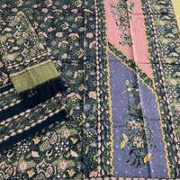 sarimbit keluarga kain batik bahan dobby pastel trusmi cirebon murah