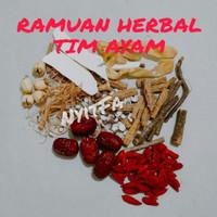 Herbal Tim Ayam Obat stamina Penambah Nafsu Makan / Ramuan Herbal