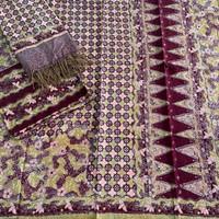 sarimbit keluarga muslim kain batik bahan dobby trusmi cirebon motif