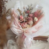 Oparinpi || Preserved Bouquet || Buket bunga preserved || buket bunga