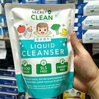 SECRET CLEAN BABY LIQUID CLEANSER 450ml/Pembersih Food Grade Serbaguna