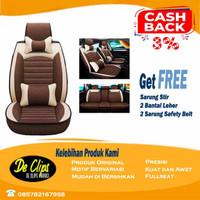 Sarung Jok Mobil LEDERLUX 2 Baris - Ayla Brio Jazz HRV CRV New Baleno