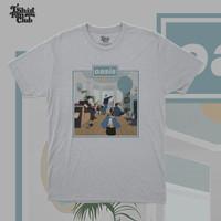 [TshirtFanClub] Kaos Band Oasis Definitely Maybe - S