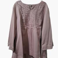 Atasan Blouse Wanita Jumbo Polos Salem ASA Collection