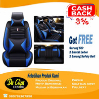 Sarung Jok Mobil MBTECH 3 Baris Xpander XL7 Livina Terios Rush Xenia