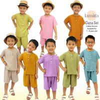 Piyama Set Anak Rayon Setelan Baju Tidur Oneset Laki Laki Cowok 1 - 8