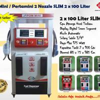 Pom Mini - Pertamini 2 nozle 2 x 100 slim