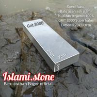 Batu asah asli alam grit 8000 hight quality size 20x7x3cm