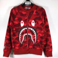 Bape jacket shark Red kids