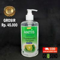 Antis hand sanitizer antiseptic 500ml gel