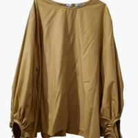 Atasan Blouse Wanita Jumbo Polos Mustard merk Warna