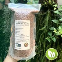 Beras Merah Organik Sosoh 1 kg Swaratani
