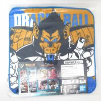 Ichiban Kuji Mini Towel Dragon Ball Great Ape Vegeta Blue Handuk Kecil