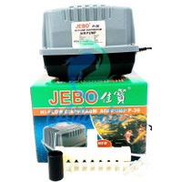 JEBO P30 P-30 Pompa Udara Aerator Air Pump Airator Aquarium Kolam Ikan
