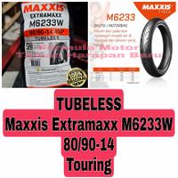 Maxxis 80/90-14 Extramaxx M6233W - Ban Motor Matic Ring 14 Tubeless