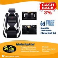 Sarung Jok Mobil LEDERLUX 3 Baris -Xpander Baleno Innova Avanza Veloz