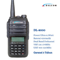 HT DALCOM DL- 8000 DUALBAND HT BAOFENG UV5R UV5RA UV5RE UV5RC UV6R A58