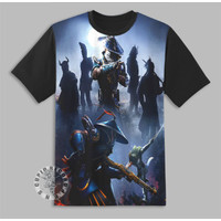 Kaos Anak Game PUB-G Season 9 3D Baju Anak Game PUB-G Pakaian 10278 - Hitam, 1-2 tahun