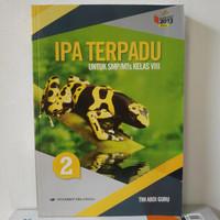Buku ipa terpadu untuk SMP kelas 2 VIII 8 kurikulum 2013 erlangga