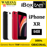 Apple iPhone XR 64GB - Garansi Resmi Ibox