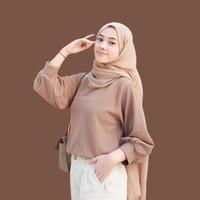 Fashion Wanita | Baju Blouse Atasan Wanita Muslim Korea | Yumma