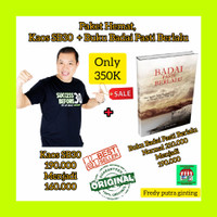 kaos success before 30 baju original + Buku badai pasti berlalu..