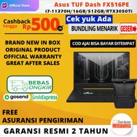 Asus TUF Dash FX516PE-I7R5B6T-O i7-11370H RTX3050Ti 16GB 512ssd 144Hz
