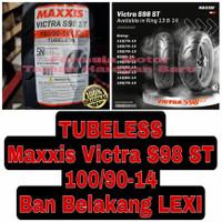 Maxxis 100/90-14 Victra S98 ST Ban Belakang Motor Lexi Ring 14 Tubeles