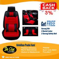 Sarung Jok Mobil MBTECH 3 Baris Xpander XL7 Avanza Terios Rush Ertiga