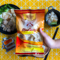 Bakso Malang Instan Meat Kuy Enak Halal Homemade Termasuk Bumbu