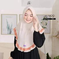 jilbab hijab kerudung bergo instan terbaru arrafi AR 499 krudung