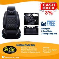 Sarung Jok Mobil MBTECH 3 Baris HILUX Altis XL7 Innova Avanza Veloz