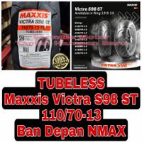 Maxxis 110/70-13 Victra S98 ST - Ban Depan Motor NMAX Ring 13 Tubeless