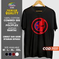 Baju Kaos Tshirt Distro Superhero Pria Cowok Original Dewasa Civil War