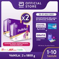 Pediasure Vanila 1800g (1-10 tahun) Susu Formula Pertumbuhan - 2 Pack